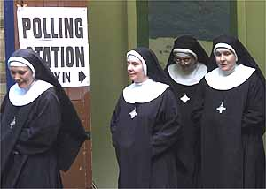What do nuns wear misconception the veil is antithetical to western