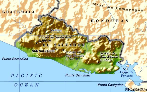 El Salvador Maps