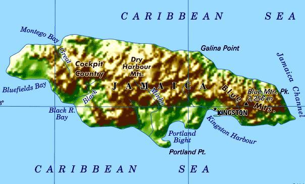 Jamaica Maps