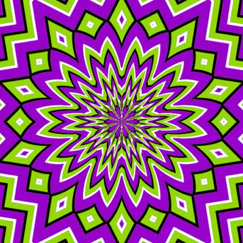purple nurple optical illusion