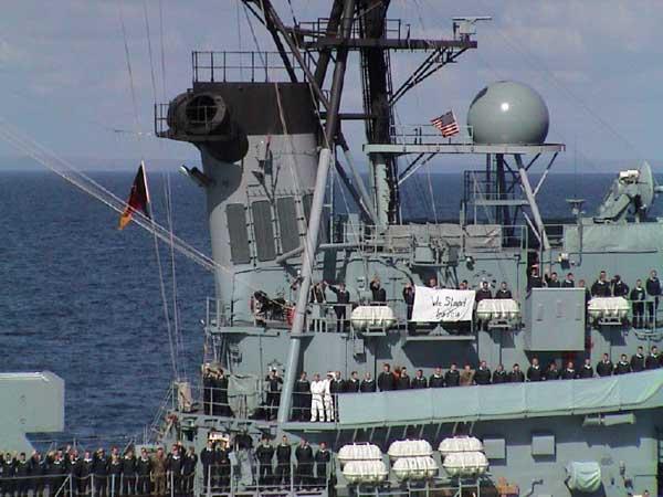German Navy destroyer,  Lutjens