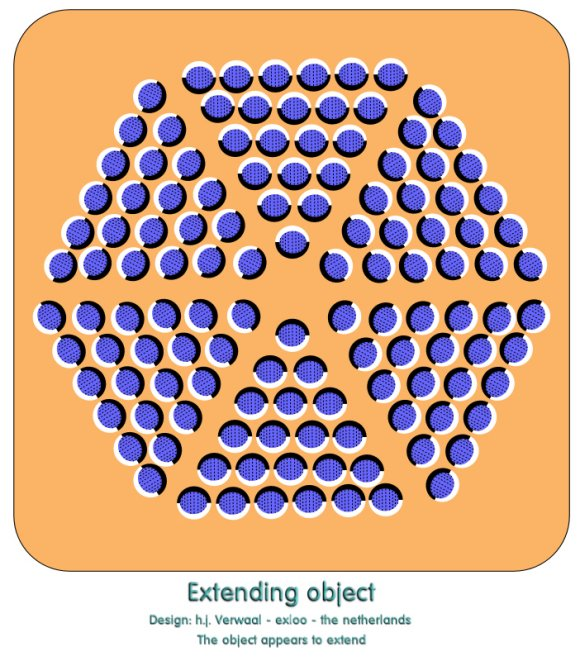 Expanding Object Optical Illusion