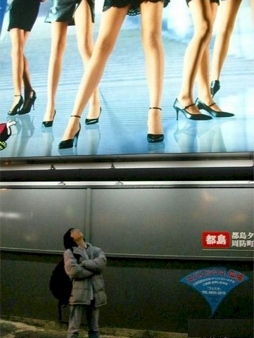 Up Skirt Optical Illusion image