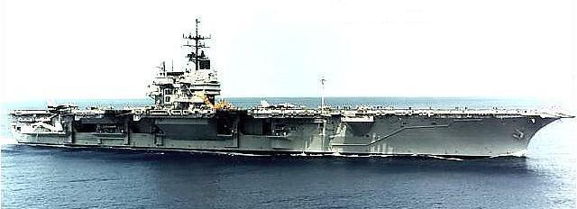 Aircraft Carrier USS Saratoga CV-60 Image